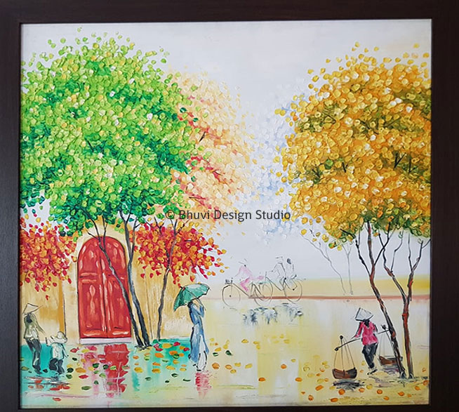 canvas painting artist in bangalore